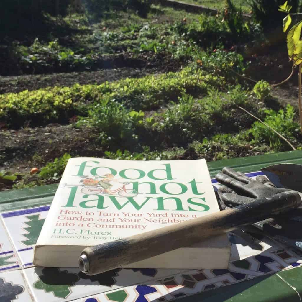 food not lawns book